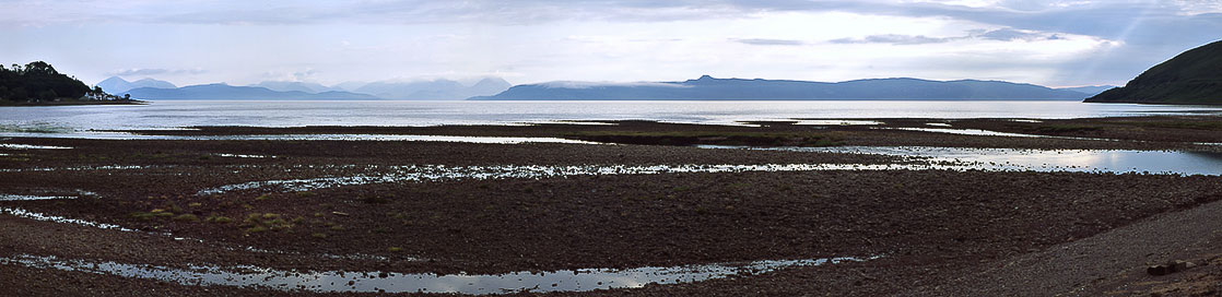 Applecross, view to the isles of Skye and Raasay